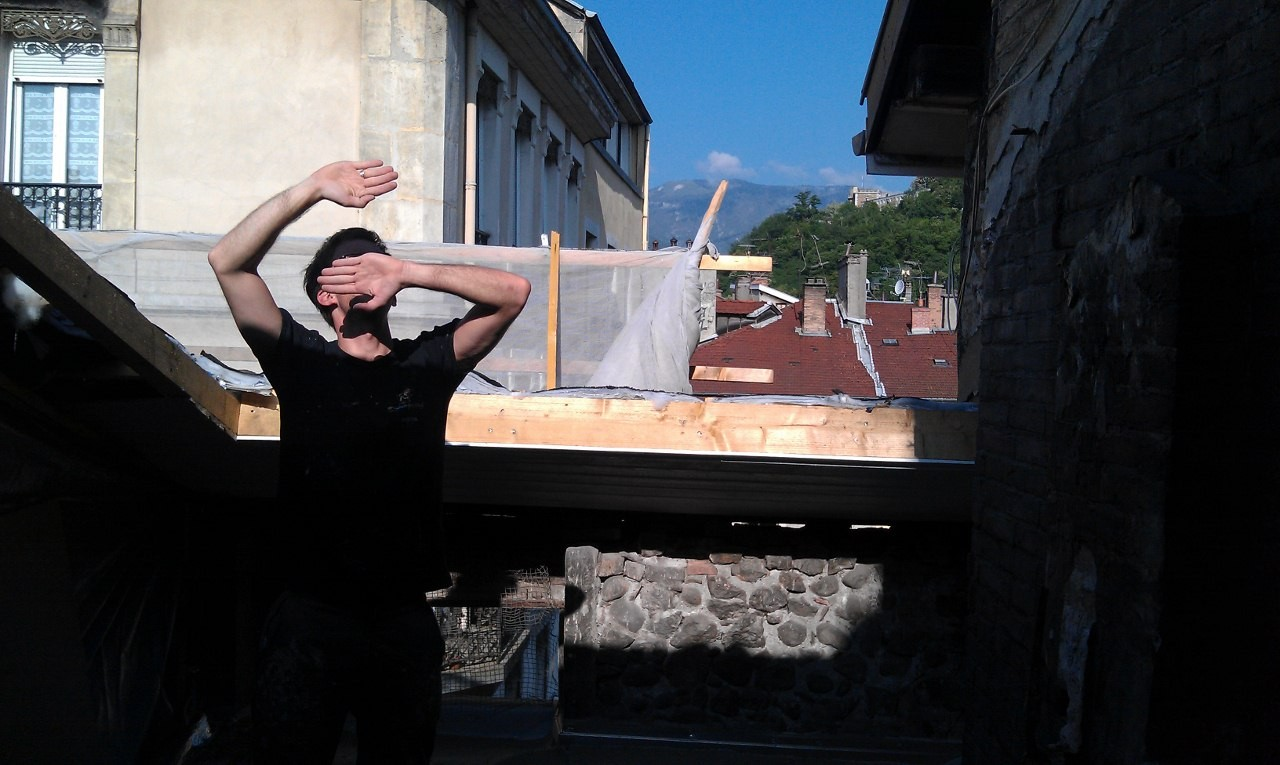 Am nagement de galetas duplex terrasse grenoble ekipe for Amenagement appartement grenoble